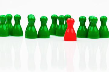 Individualität im Team. Anders sein.
