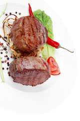 beef fillet with thyme