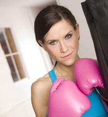Pink Lady Boxer