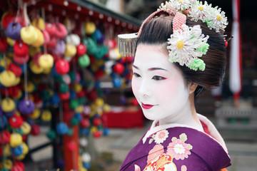 Visage de geisha