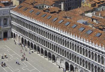 Venedig - Bkick vom Campanile zur Piazza San Marco