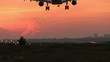 Beautiful Sunset landing