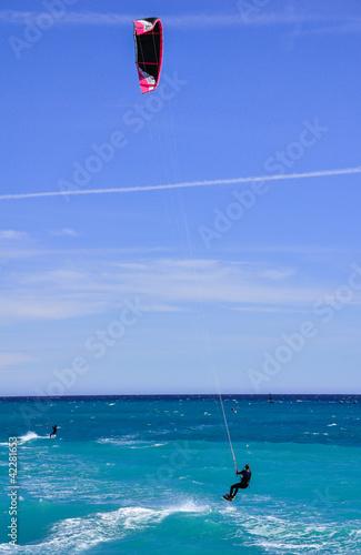 kitesurf méditerranée