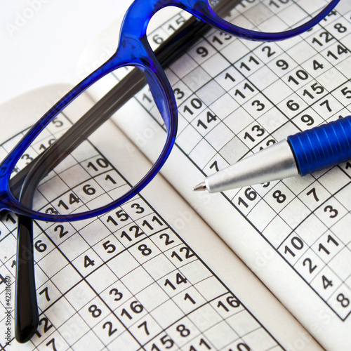 Leinwandbild Motiv Sudoku