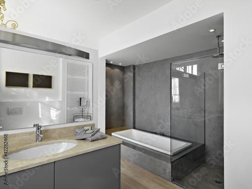 bagno moderno con vasca e doccia ~ trova le migliori idee per ... - Immagini Bagni Moderni Con Doccia