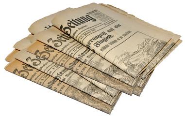 tageszeitungen alt