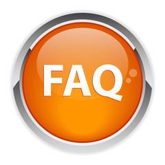 bouton internet question FAQ icon.
