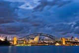 Fototapety Sydney Harbour Twilight