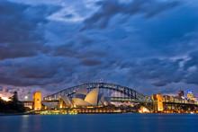 Zmierzch Sydney Harbor