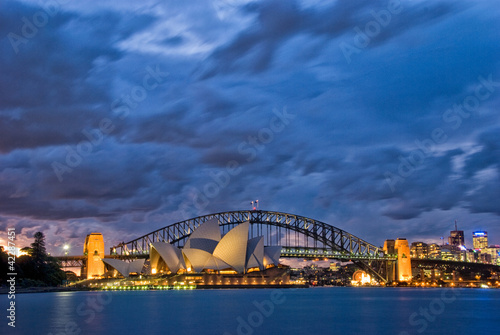 Poster Sydney Harbour Twilight