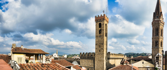 Roofs in Florence. Italy