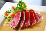 tuna sashimi