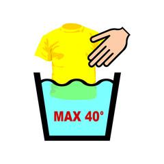 Etichette lavaggio