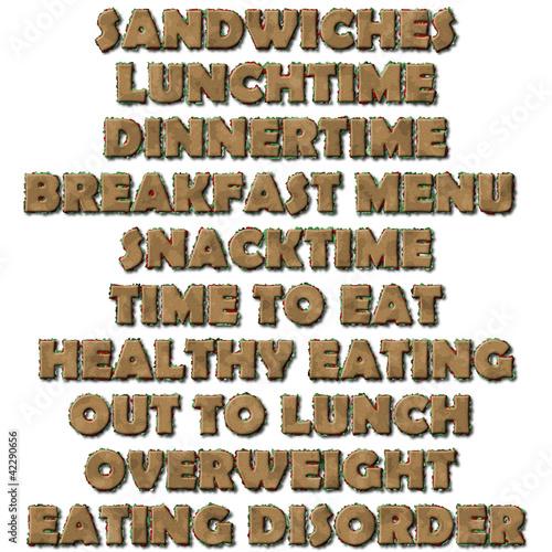 Sandwich words