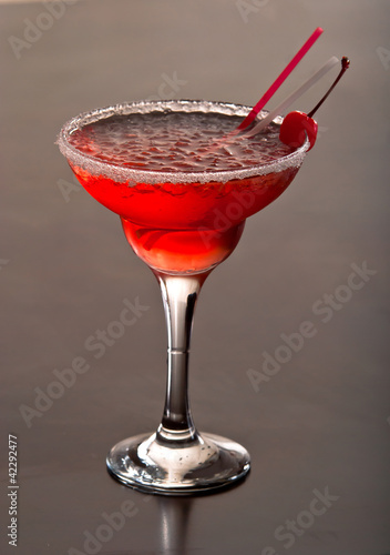 Margarita with cherry