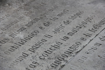Provencal Inscription