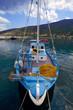 grèce; ioniennes, kefalonia : port d'Aghia Efimia