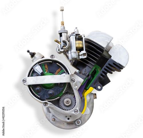 Leinwandbild Motiv Motor