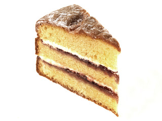 Triple Layer Victoria Sponge Cake