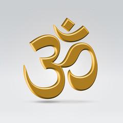 Golden om symbol