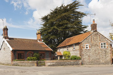 Building, Houses, Traditionsl, Weybourne, Norfolk