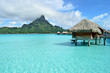 Luxury overwater vacation resort on Bora Bora - 42298014