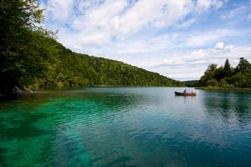 Plitvice lakes, national park, Croatia, UNESCO
