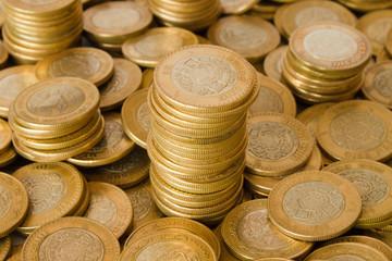 mexican ten pesos coins