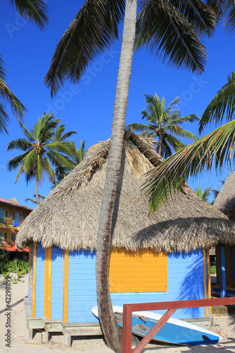 The Bahamas - Colorful Beach House