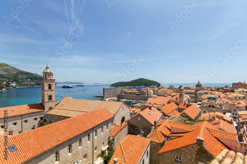 Dächer von Dubrovnik, Kroatien