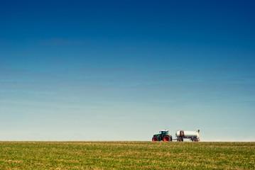 Landwirtschaft im Frhling