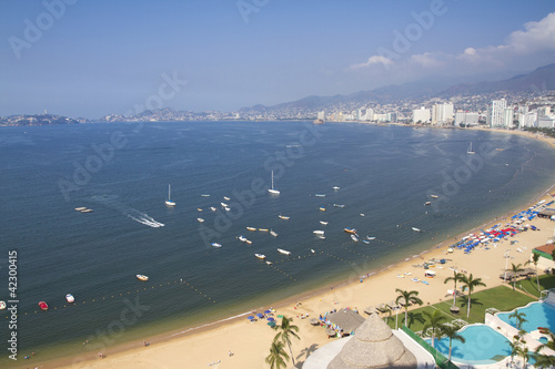 Acapulco bay Mexico