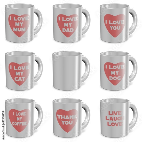 I love mugs set