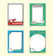 Volleyball Trading Card Picture Frames