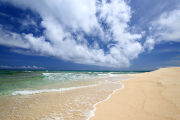 コマカ島の美しい自然