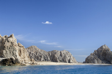los arcos and los cabos in baja califonia sur, mexico, shot from