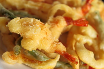 Tempura for side dish or appetizer