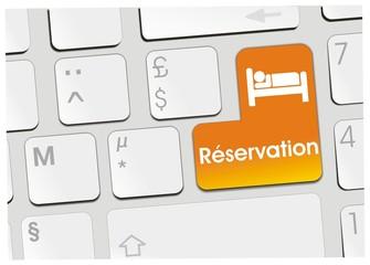 clavier réservation