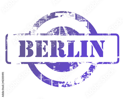Berlin city stamp