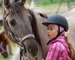 Fototapeten,pferd,jockey,kind,staat