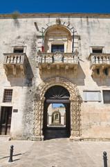 Town hall. Sternatia. Puglia. Italy.