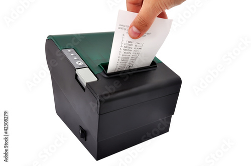 thermal printer and check