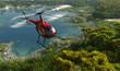 Leinwandbild Motiv Civilian helicopter