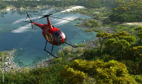 Civilian helicopter - 42309453