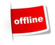 Schild Offline