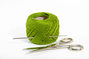 green wire to crochet