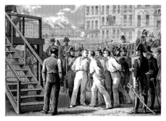 Execution (4 Sergents - La Rochelle - 1822)