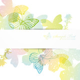 Fototapety butterfly background