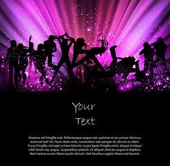 Party color background illustration