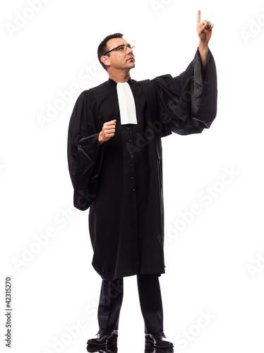 lawyer man portrait - 42315270